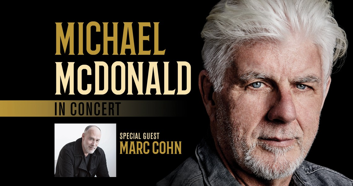 Michael McDonald with Marc Cohn