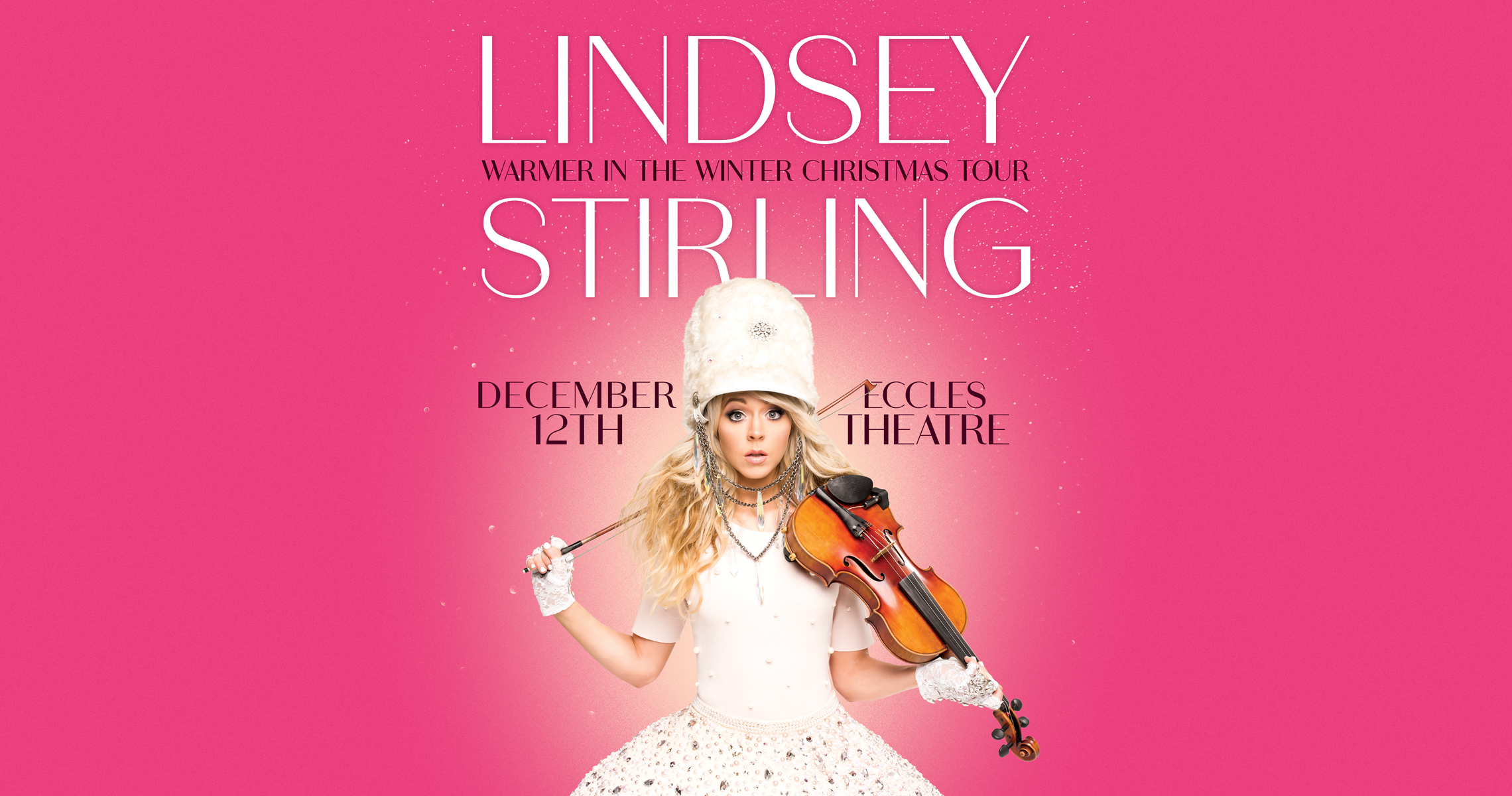 Lindsey Stirling Christmas Album.Lindsey Stirling Warmer In The Winter Christmas Tour Live