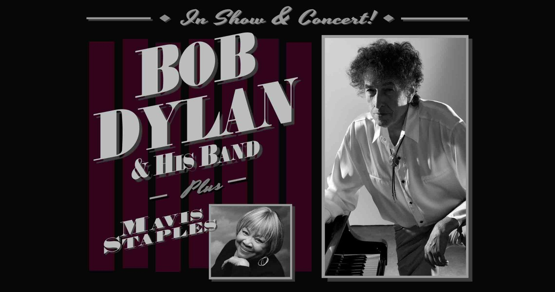Bob Dylan and his Band plus Mavis Staples