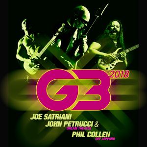 Joe Satriani Presents: G3 2018 Tour with John Petrucci and Phil Collen