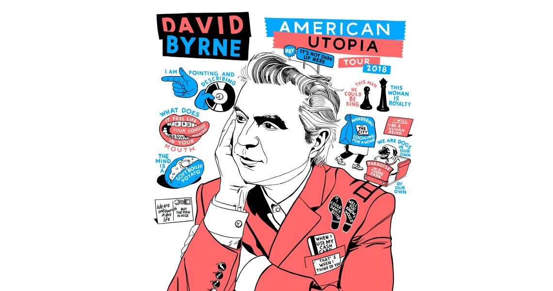 David Byrne: American Utopia Tour