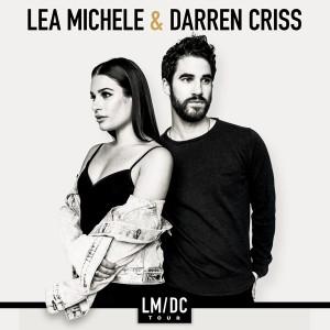 Lea Michele and Darren Criss