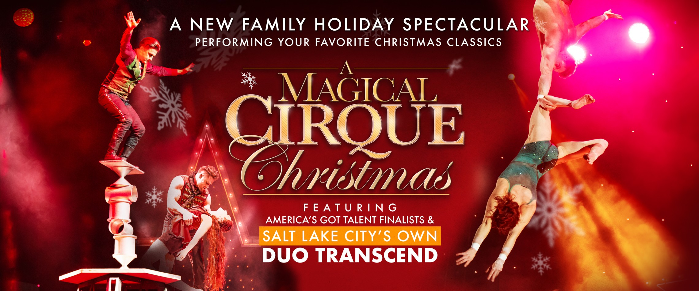 Cirque Christmas.A Magical Cirque Christmas Live At The Eccles