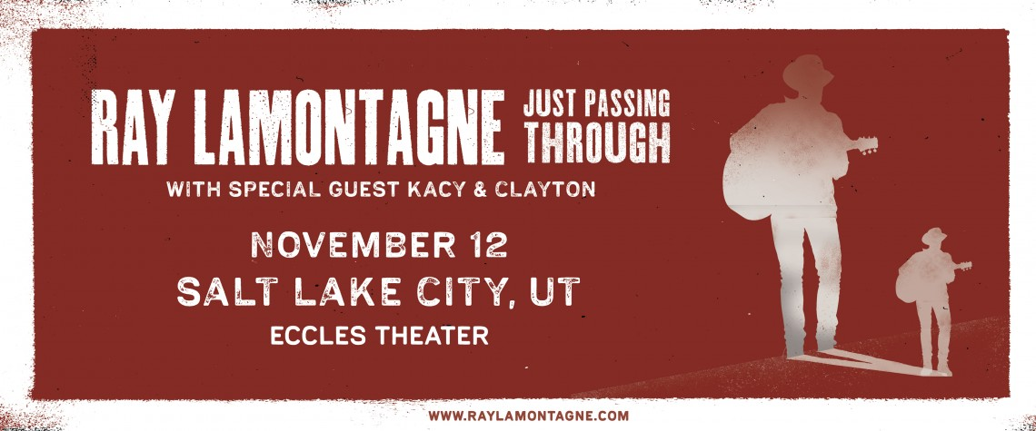 Ray Lamontagne Live At The Eccles