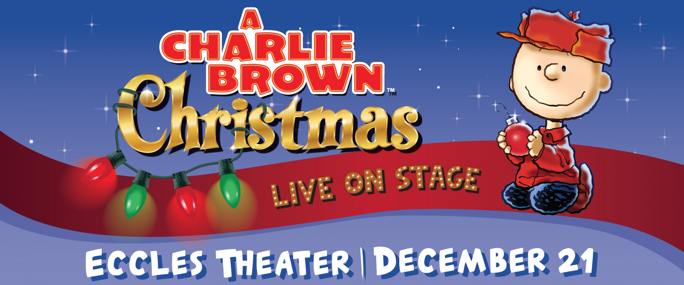 Charlie Brown Christmas Images.A Charlie Brown Christmas Live At The Eccles